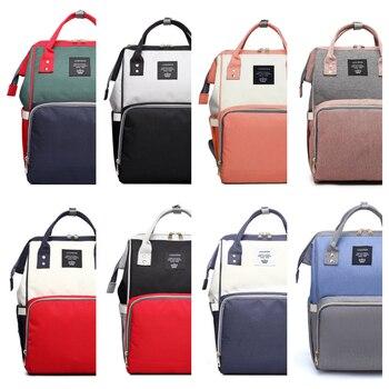 Lequeen Multifunction Diaper Bag Large Capacity Women Backpack Mommy Bag Pregnant WOMEN'S Nursing Backpack Diaper Bag