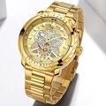 NAVIFORCE часы мужские модные золотые кварцевые наручные часы из нержавеющей стали водонепроницаемые спортивные мужские часы Дата 24 аналоговы...