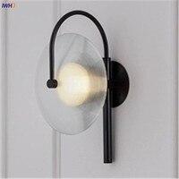 Glass Wall Lamp Nordic LED Wandlamp Bedroom Bathroom Light Creative Modern Round Bedside Lighting Applique Murale Luminaire