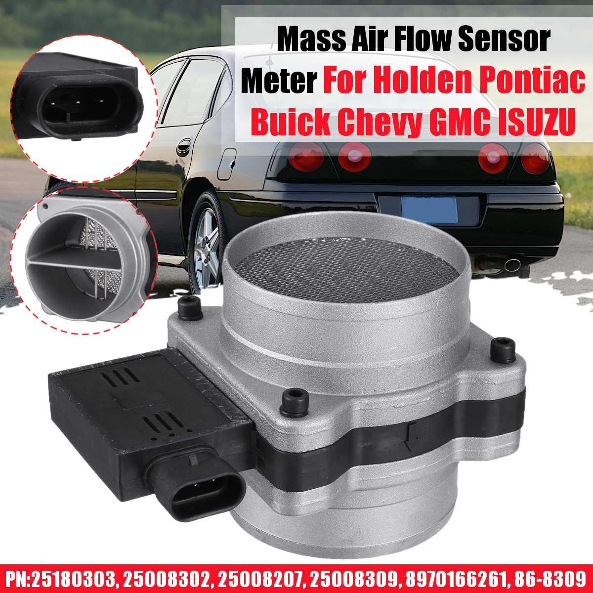25180303 Mass Air Flow Sensor Meter MAF Compatible with Pontiac Buick Chevy GMC