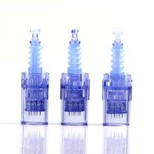 Auto bayonet microneedling cartridge 9pin/36pin/42pin micro needling nano A6 needle cartridges for derma pen machine