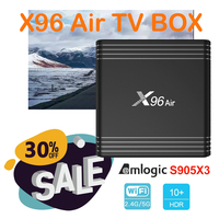 android 4 2 x96 air android 9.0 s905x3 TV Box Amlogic Quad Core 2.4&5G Dual Wifi Bluetooth Support 8K youtube google Netflix Media Player (1)