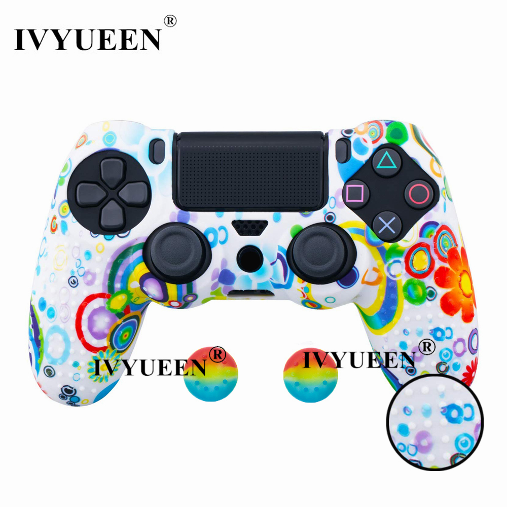 for PlayStation 4 ps4 Pro slim controller silicone case skin 07