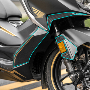 Image 2 - Forza350 2D Motorcycle Body Full Kits Decoration Carbon Fairing Emblem Sticker Decal For Honda NSS350 Forza 350 accessories 2021