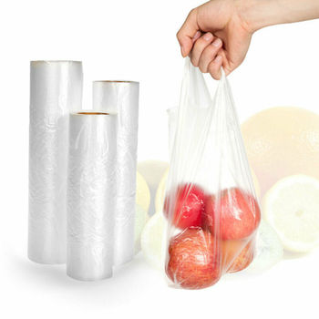 100pcs One roll food Storage saver bags Vacuum Plastic roll custom size Bags For Kitchen Vacuum Sealer to keep food fresh 1 roll 100pcs thickened saran wrap vacuum sealer general food saver plastic bag food storage preservation bags packaging film