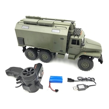 Car-Model-Toy Rock-Crawler Remote-Controller Military 6wd Rc Wireless Command 1:16-Scale