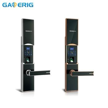 GATERIG Smart Lock Electronic Fingerprint Home Door Digital Fingerprint Unlock Security Door Smart Door Lock Intelligent цена 2017