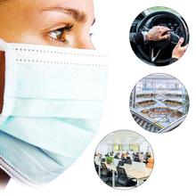 50pcs / box disposable N95 mask pad non-woven anti-fog mask universal protective breathable pad mask inner gasket