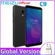 Глобальная версия Meizu C9, 2 Гб ОЗУ, 16 Гб ПЗУ, смартфон, четыре ядра, 5,45 дюймов, 1440X720 P, фронтальная 8 Мп, задняя 13 МП, аккумулятор 3000 мАч