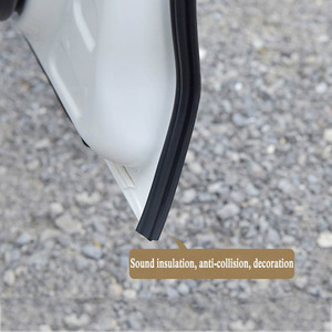Image 5 - Car Styling Moulding BJ shaped Car Door Seal EPDM Universal Noise Insulation Weatherstrip Sealing Rubber Strip Trim Auto Seals