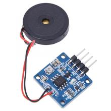 цена на interruptor Piezoelectric Vibration Tapping Sensor Module Vibration Switch Module 5.0V DC AD/DO rotary switch