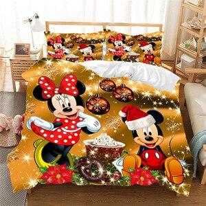 Christmas Mickey Minnie Beddin