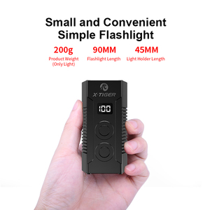 Image 5 - X TIGER 4000mAh Bicycle Light 1800 Lumens MTB Cycling Front Flashlight Power Display Mountain Bike Light USB Rechargeable Led