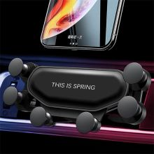 Модернизированный Универсальный Автомобильный держатель для телефона Gravity Автомобильный держатель для телефона Air Vent крепление зажим подставка для смартфонов