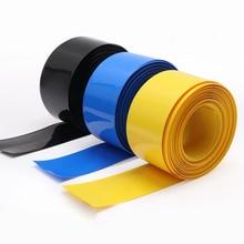 Tubing Cover Shrinkable-Film Skin Pipe-Sleeves-Insulation Heat-Shrink-Tube Lithium-Battery