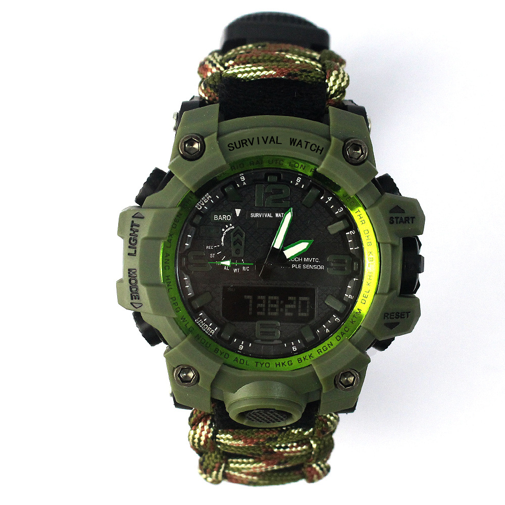 Europe And America Fashion Outdoor Sports BOY'S Watch Compass Whistle Gift Watch Men's Business Watch Manufacturers Wholesale|  - title=