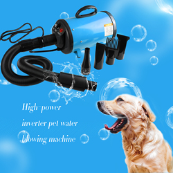 Pet Hair Dryer For Dogs Grooming Compressor For Drying Dogs Blow Speed Motors Hairdryer Holder Shipping From Russia In Moscow