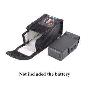 Image 2 - Огнеупорный защитный чехол для аккумулятора для DJI Mavic Air LiPo, взрывозащищенный чехол для аккумулятора для DJI Mavic Air Accessories