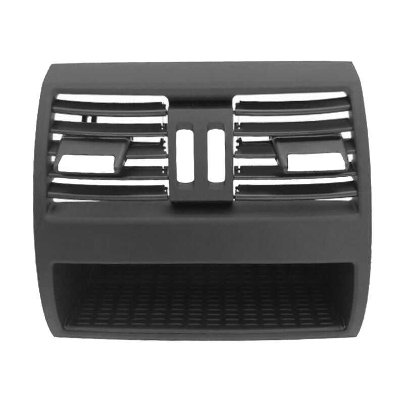 Black Air vent trim 1pc Car Center Console For BMW 520i 523i 525i 528i 530535