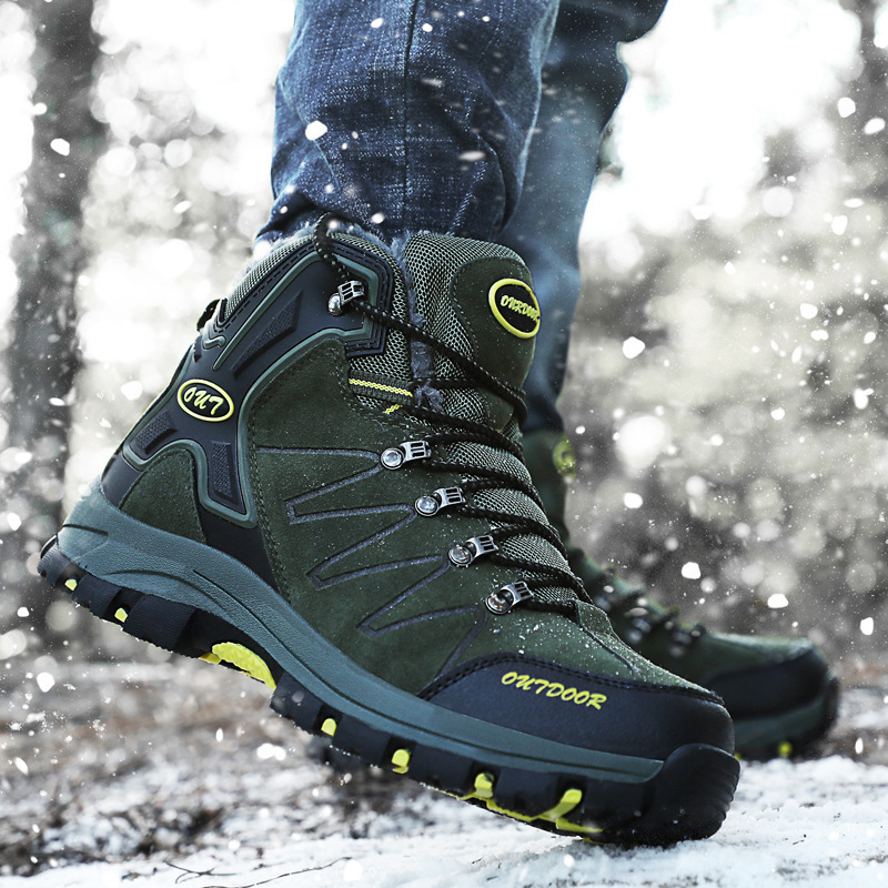 2020 Men Outdoor Sneakers Sport Camping Hiking Shoes Waterproof Anti-Skidding Male Sports Shoes Dropshipping Men Shoes
