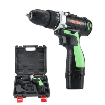 12V Electric Screwdriver Lithium Battery Cordless Drill Rechargeable Parafusadeira Furadeira Household DIY Power Tools xltown25v 2000ma impact drill rechargeable lithium battery electric screwdriver multifunction cordless household electric drill