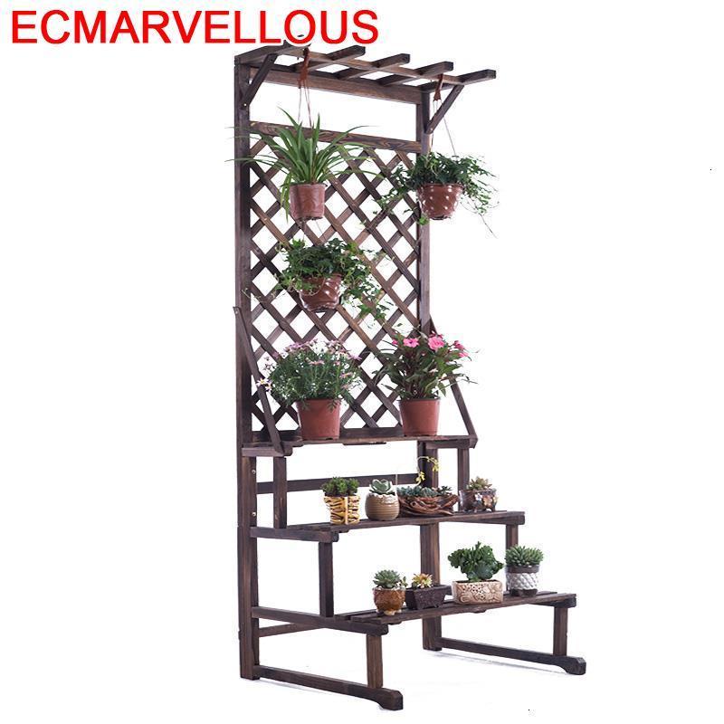 Para Plantas Suporte Flores Etagere Pour Plante Garden Shelves For Rack Outdoor Stojak Na Kwiaty Flower Shelf Plant Stand
