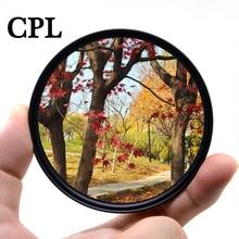 KnightX CPL Polarizing Camera Lens Filter polar 49mm 52mm 55mm 58mm 62mm 67mm 72mm 77mm For canon eos sony nikon polarizer super thin 49 52 55 58 62 67 72 77mm waterproof circular polarizer cpl camera lens filter for canon for sony camera lens