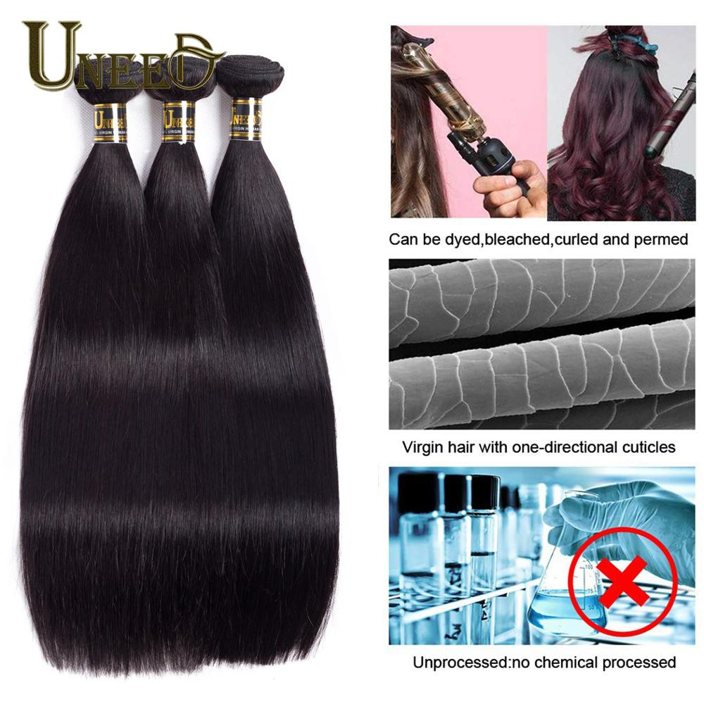 30 32 40 Inch Brazilian Straight Hair Bundles 100% Human Hair Long Straight Remy Hair Extensions Brazilian Hair Weave Bundles