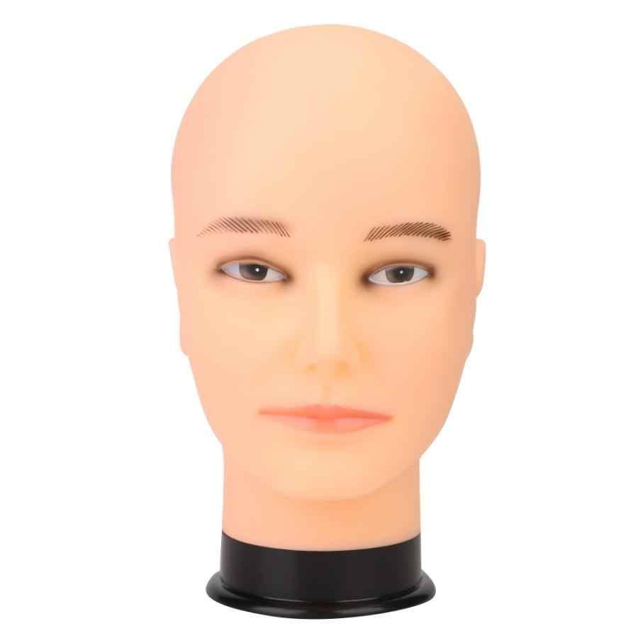 Mannelijke Mannequin Hoofd Hoed Pruik Display Model Hoofd Mannequin voor Kapsels Training Praktijk Professionele Kwaliteit PVC Model Hoofd