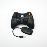 Manufacturers Direct Selling XBOX360 2.4G Wireless Game Handle Unisex with Receiver Support a Generation of Fat