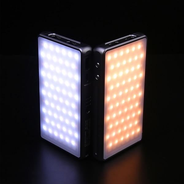 Jetbeam PL-190R Portable Photography LED Light 5000mah On-Camera Light 2500K-8500K RGB Full Color Fill Light