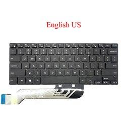 Laptop US RU klawiatura do DELL Inspiron 5368 5378 7375 7460 5568 7560 7569 7572 5370 7370 7373 7573 rosja angielski nowa