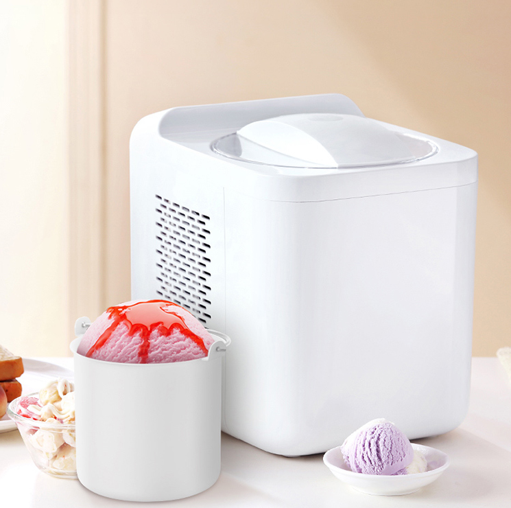 1L Automatic and Intelligent Mini Ice Cream Maker for Household to Prepare Delicious Ice Cream and Sorbet 11