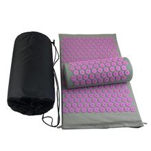 Cushions Pillow Yoga-Mats Spike-Mat Massager Acupressure with Back-Pain Relieve