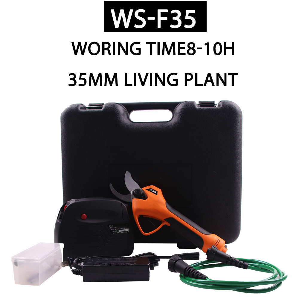 SWANSOFT electric branch scissors  F35   electric pruner  35MM  electric  scissors