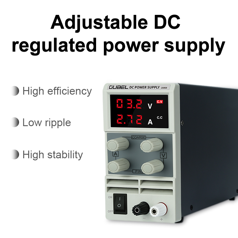 Regulated-Lab Current-Regulator Power-Supply Voltage OUBEL High-Precision And 5A 10a/60v