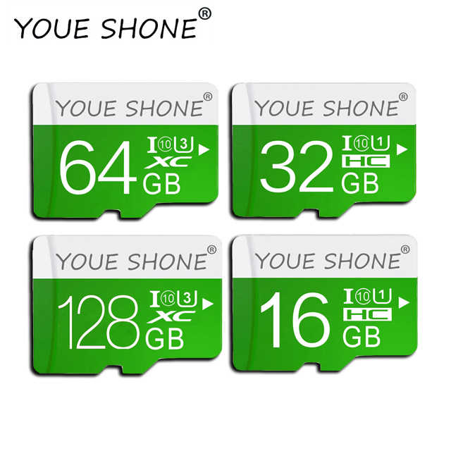 Wysokie obroty mikro karta SD 8GB 16GB 32GB Mini karta microsd 64GB 128GB karta TF Class10 karta pamięci cartao de memoria na smartfona