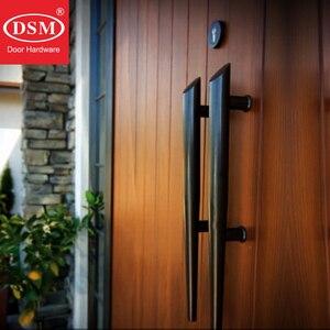 Горелка из нержавеющей стали SUS304, ручка для входной двери для деревянных/металлических/стеклянных дверей, PA-166-38 * 530 мм