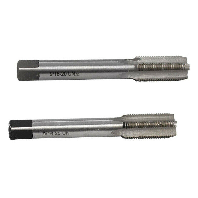 US $13.06 10% OFF|2pcs Right/Left Hand 9/16  20 TPI Unified Machine Straight Fluted Screw Thread Metric Plug Hand Tap Drill Set Hand Tools|Tool Parts| |  - AliExpress