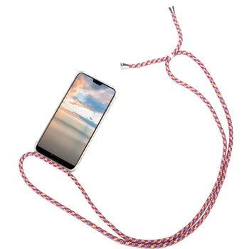 Перейти на Алиэкспресс и купить Чехол для Huawei P40 P20 P30 Mate 20 10 Lite Pro с цепочкой и шнуром для P Smart Z Y6 Y7 Y9 Prime 2019