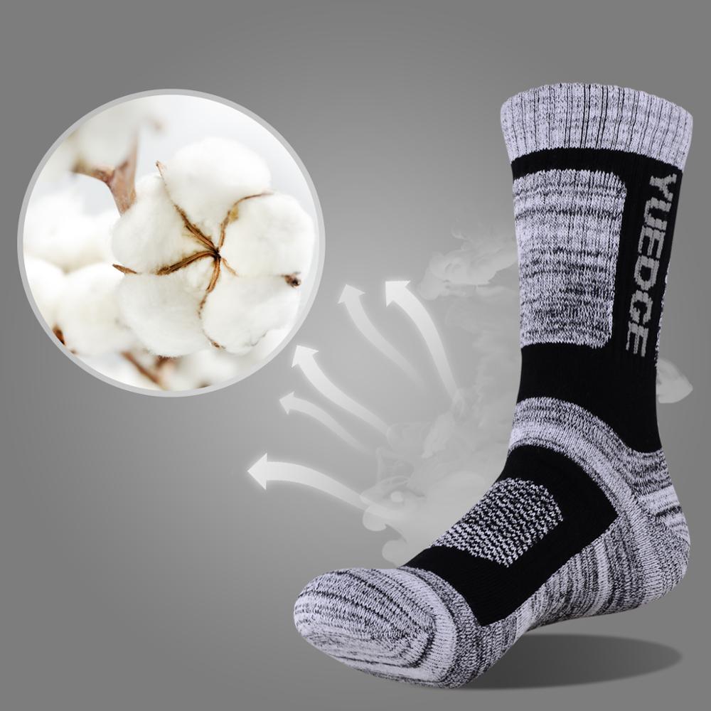3 пары зимних мужских впитывающих утолщенных зимних теплых Хлопковых Носков спортивные носки походные носки