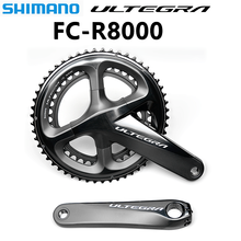 Shimano ULTEGRA FC R8000 53x39T 50x34T 170mm 172,5mm bicicleta de carretera plato hueco rueda de cadena de bicicleta Tech II