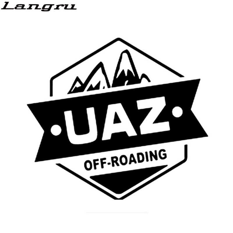 Langru 15*16.7cm kişiselleştirilmiş vinil çıkartma 4x4 Off Road oto dekoratif araba aksesuarları Jdm