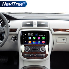 Autoradio Android Quad Core Auto stéréo multimédia pour Mercedes Benz classe R W251 R300 classe M W164 ML350 200-2011 Full Touch