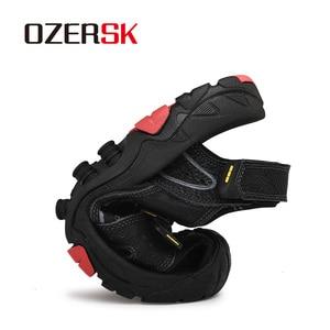 Image 4 - OZERSK, novedad de verano, sandalias para hombre, zapatos de verano a la moda, sandalias casuales transpirables impermeables, zapatos para caminar en la playa, talla 38 ~ 46