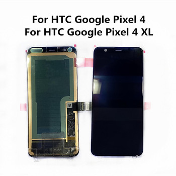 """Original 6.3"""" For Google Pixel 4 XL LCD Display Touch Panel Screen Digitizer Assembly 5.7"""" For Google Pixel 4 OLED LCD Screen"""