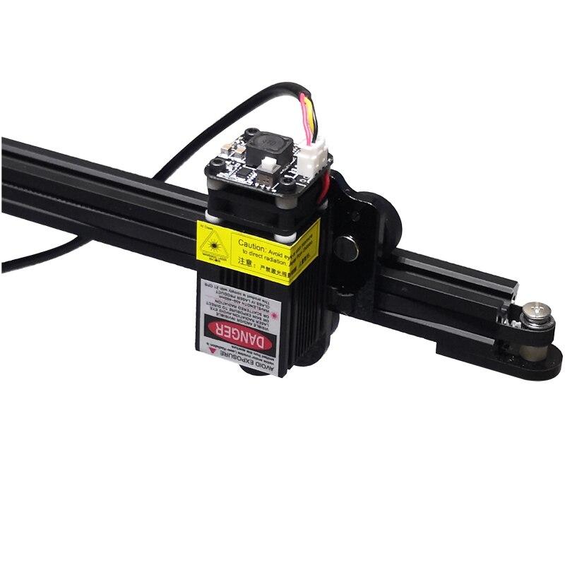 DIY CNC laser desktop Tragbare 2417 4036 gravur maschine 15w label kennzeichnung holz metall edelstahl tasse Optional dreh achse