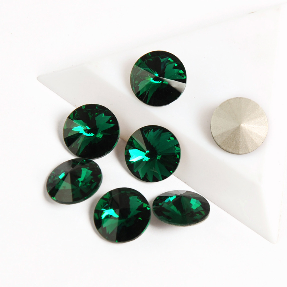 yanruo 1122 cristais esmeralda prego strass diamante rivoil pedras pedras brilhantes gemas manicure unhas arte decoratio