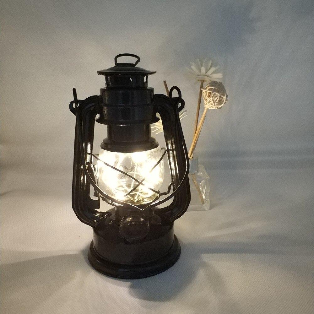 HZFCEW Warm White Retro Wrought Iron Lantern Star Light European Style Night Lights FR245