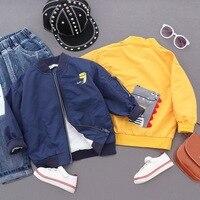 Fashion Children's Warm Jacket Spring&Autumn Boy Kids Baby Outwear Coat Cute Cartoon Pattern 3T 4 6 8 Children Clothes